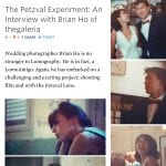 The Petzval Experiment: An Interview with Brian Ho