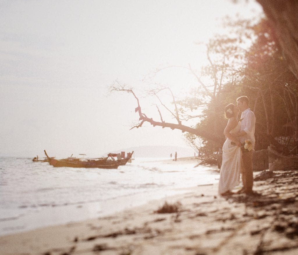 Jamie & Justin's Pre-Wedding Photography by Singapore Wedding Photographer Brian Ho from thegaleria / Rayavadee Krabi