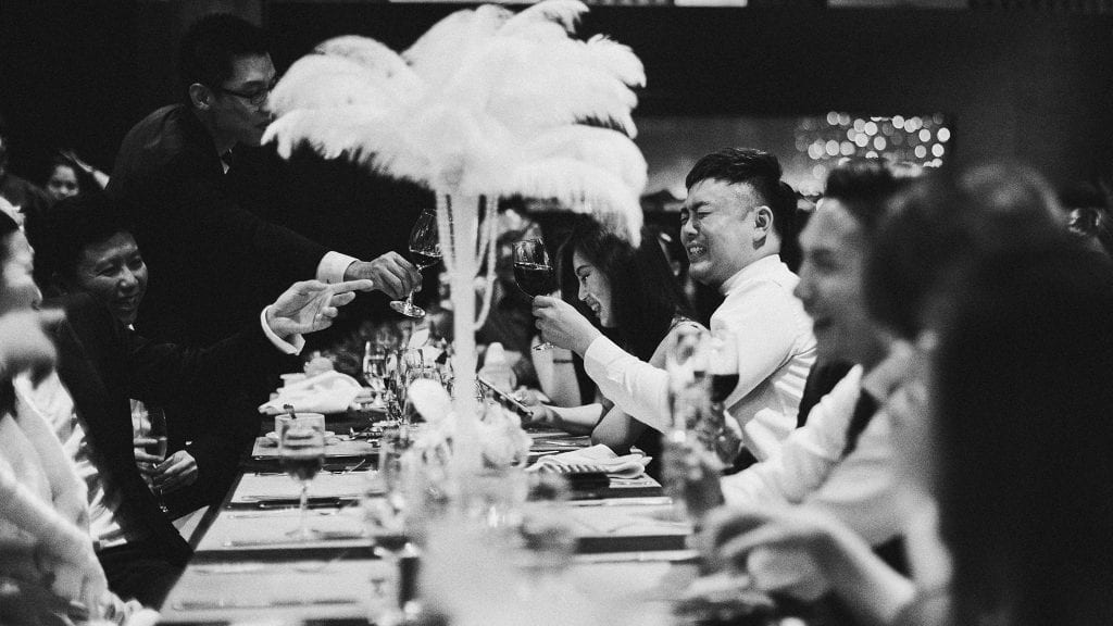 Wei Jie & Kristal's wedding at Vineyard HortPark / Wedding Photography by Brian Ho / thegaleria