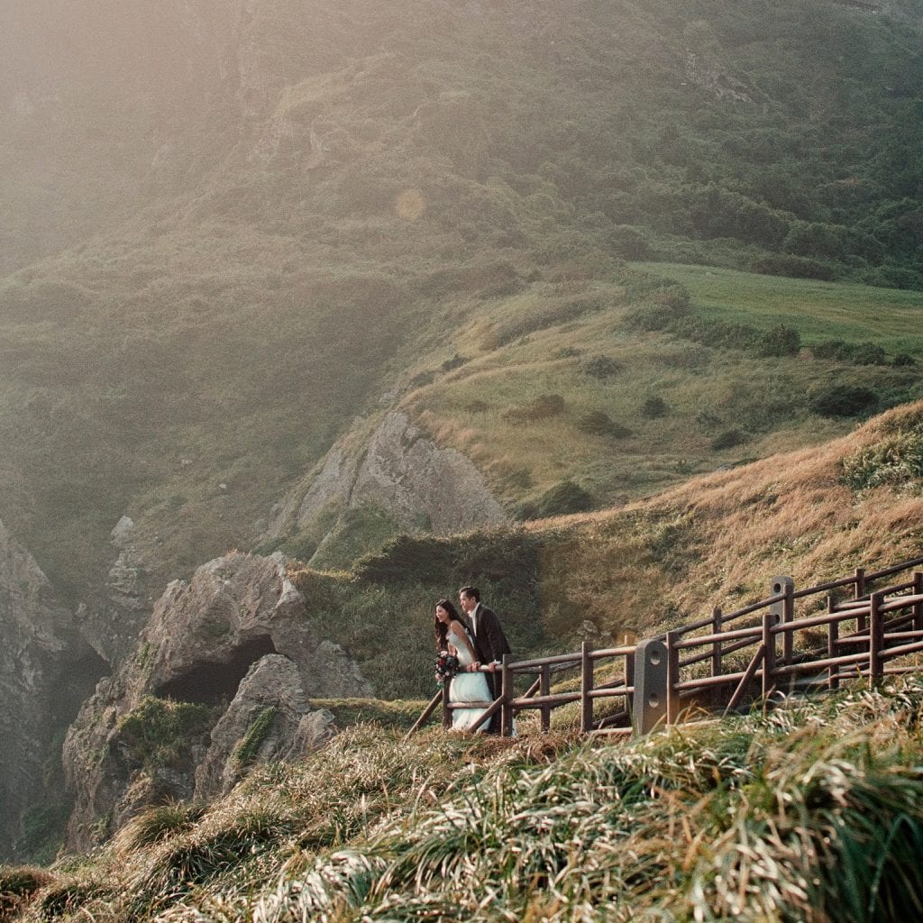 Yang Kang & Jessica's Jeju Pre Wedding by Film Wedding Photographer Brian Ho / thegaleria