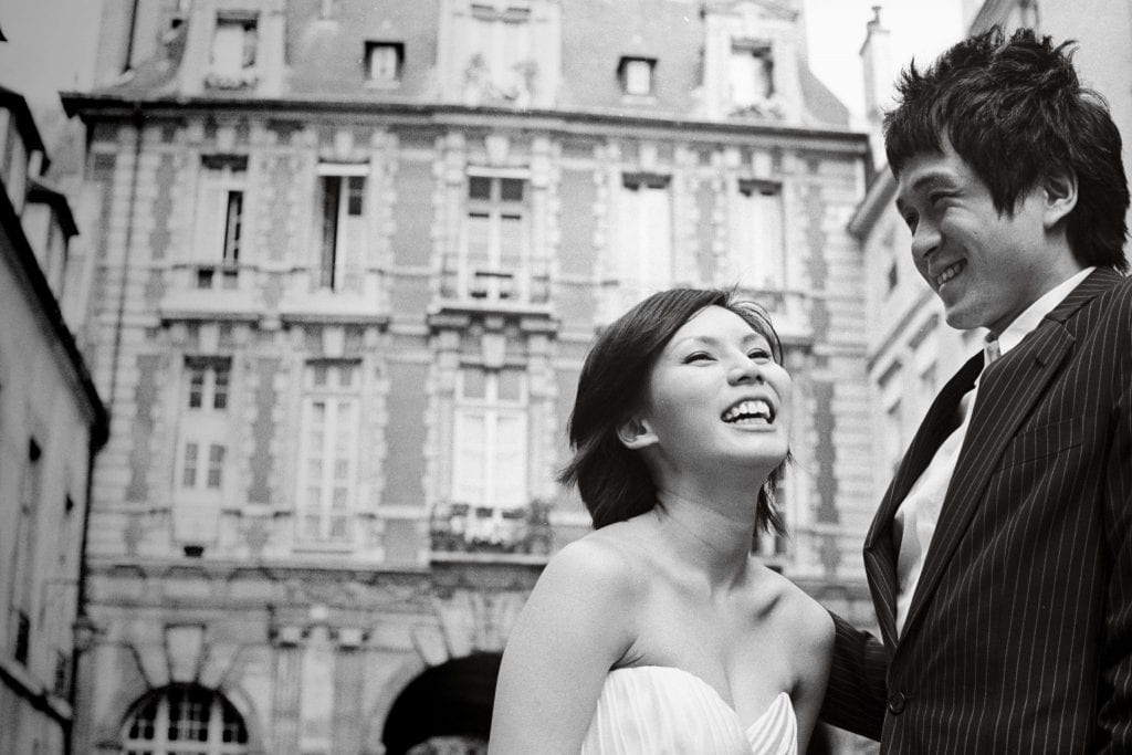 Steven & Charissa / Paris Pre Wedding by Film Wedding Photographer Brian Ho / thegaleria