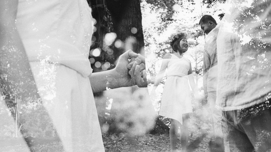 Yan & Hsiang Jou / A Double Exposure Wedding by Film Wedding Photographer Brian Ho / thegaleria