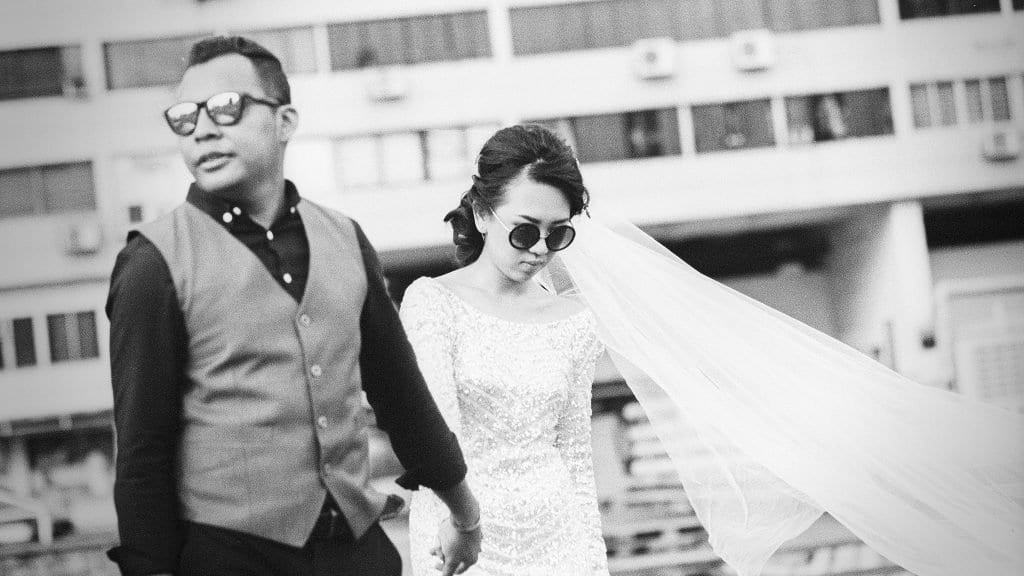 Mint & Noelle / Singapore PreWedding / Film Wedding Photographer Brian Ho thegaleria / Kodak TRI-X 400