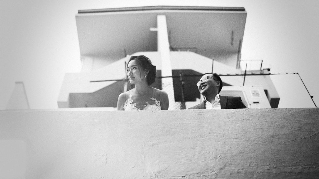 Jeremy & Elizabeth's Pre Wedding at Wessex & Tiong Bahru / Wedding Photography by thegaleria