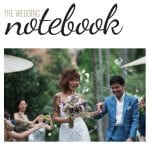 Reuben & Samantha featured on The Wedding Notebook