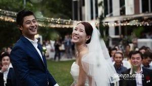 Wedding Photography: Brian Ho / thegaleria Wedding Gown: The Wedding Present Location: Suburbia @ Sentosa
