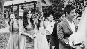 Wedding Photography: Brian Ho / thegaleria Wedding Gown: The Wedding Present Location: Suburbia @ Sentosa Film: Kodak TRI-X