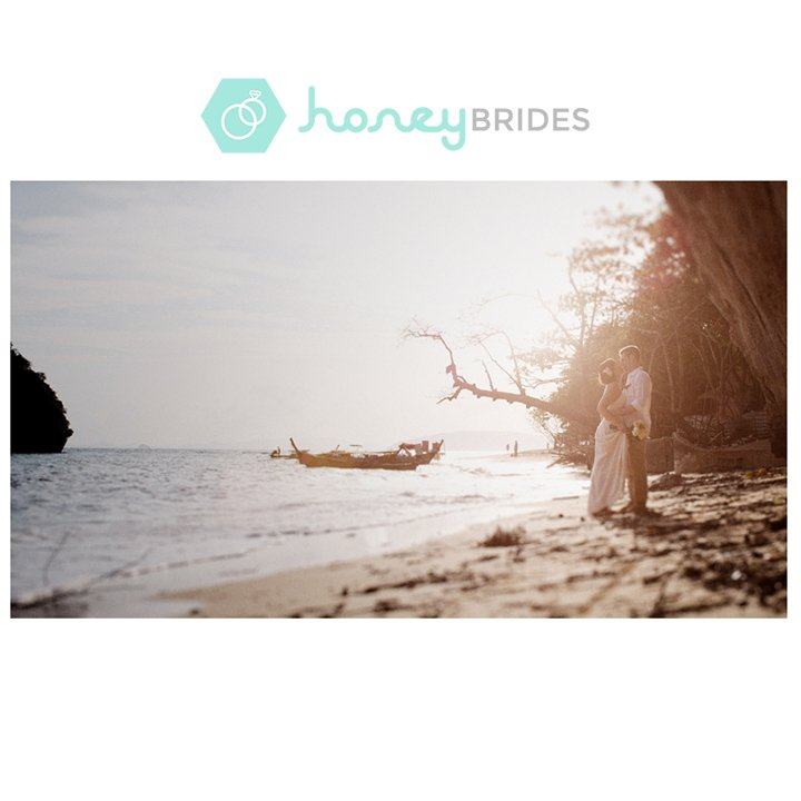 Justin & Jamie at Rayavadee Krabi / Honey Brides / Film Wedding Photographer Brian Ho from thegaleria