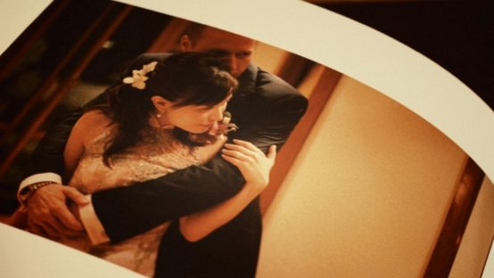 Handmade Photo Albums by Film Wedding Photographer Brian Ho from thegaleria. Made with Hahnemühle fine art paper