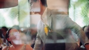 Adrian & Kelly's Wedding at The White Rabbit by Film Wedding Photographer Brian Ho from thegaleria