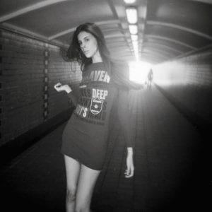 Lais // Fashion Portrait Photography by Film Photographer Brian Ho from thegaleria / Holga 120, Ilford HP5+
