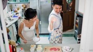 Zuo Yi & Sophia's Wedding by Film Wedding Photographer Brian Ho from thegaleria