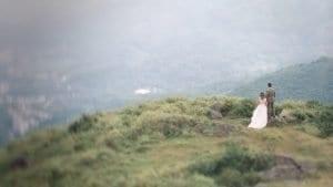 Hong Kong Pre Wedding by Film Wedding Photographer Brian Ho / thegaleria // CineStill 50D // Tai Mo Shan